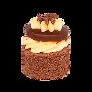Banánová tortička - Mini zákusky