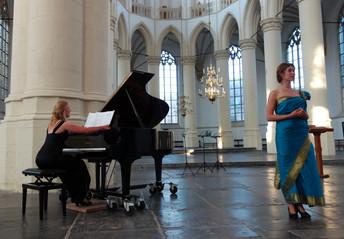 Three Pieces of Eden premiered in the Hooglandse Kerk, Leiden