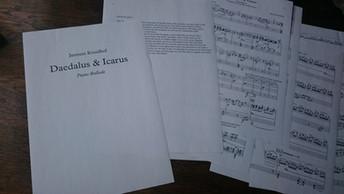 Daedalus and Icarus - a Piano Ballad