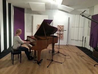 Recording session at Artichoque Recording