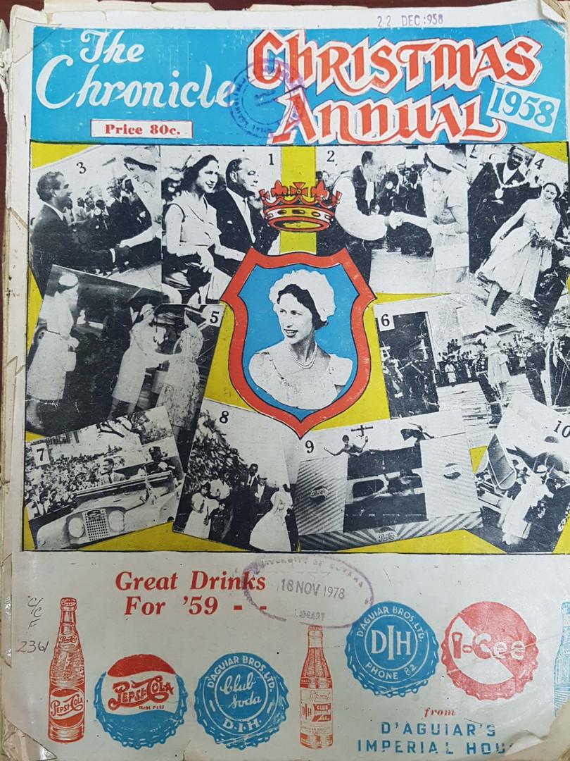 1958 Chronicle Christmas Annual