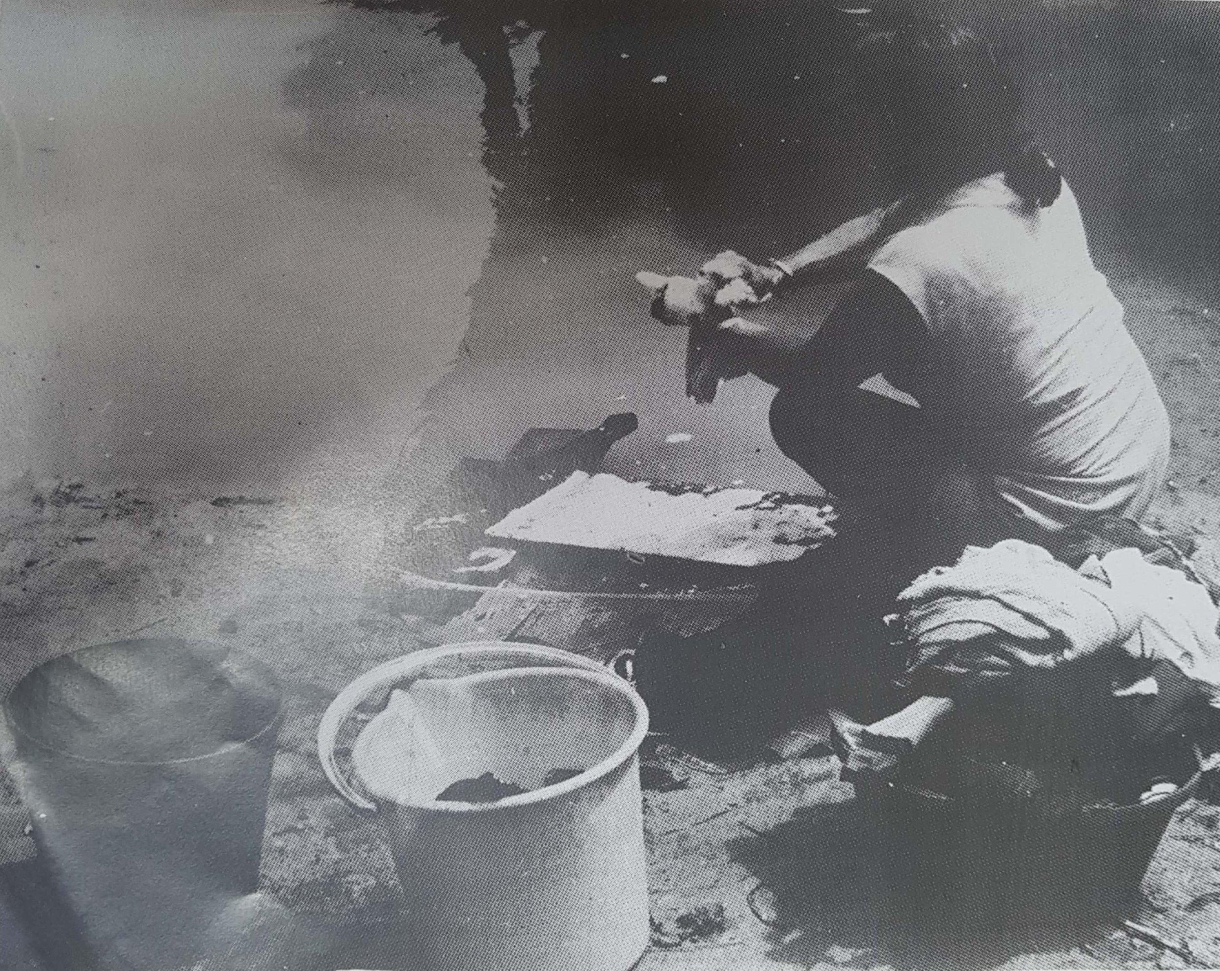 Amerindian Washer Woman