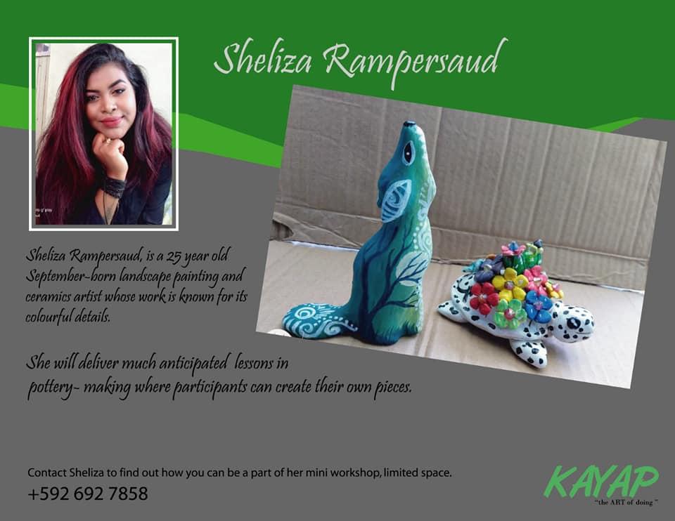 S Rampersaud:Artist at KAYAP 2
