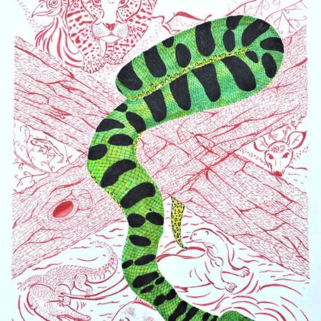 Artist Feature - Amazonia Monarch by Raquel A. Ferreira