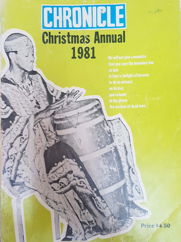 1981 Chronicle Xmas Annual