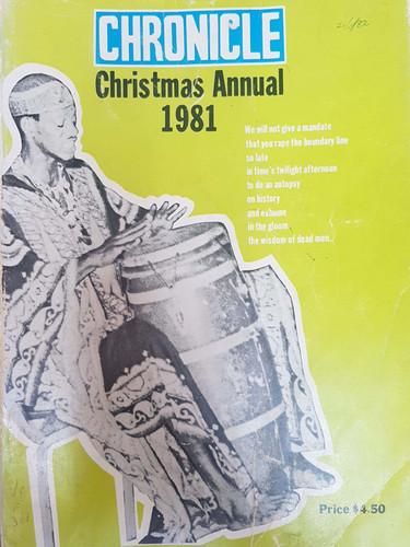 1981 Chronicle Xmas Annual