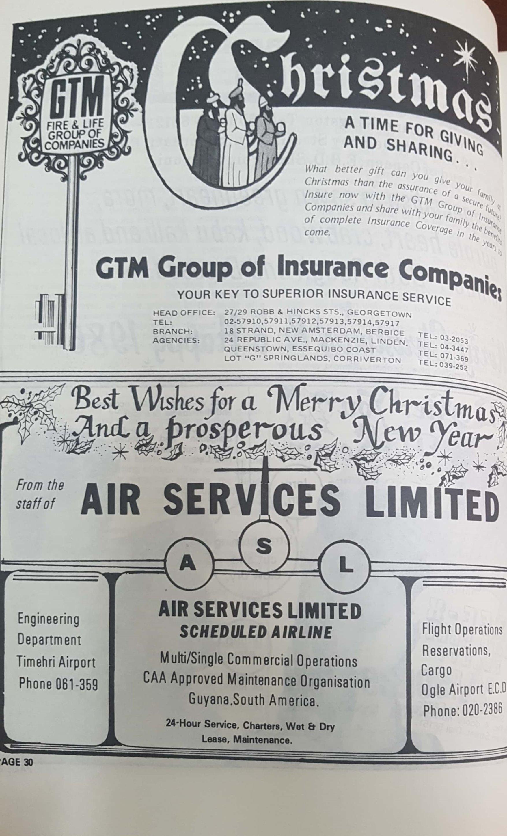 Air Services & GTM Ads 1958
