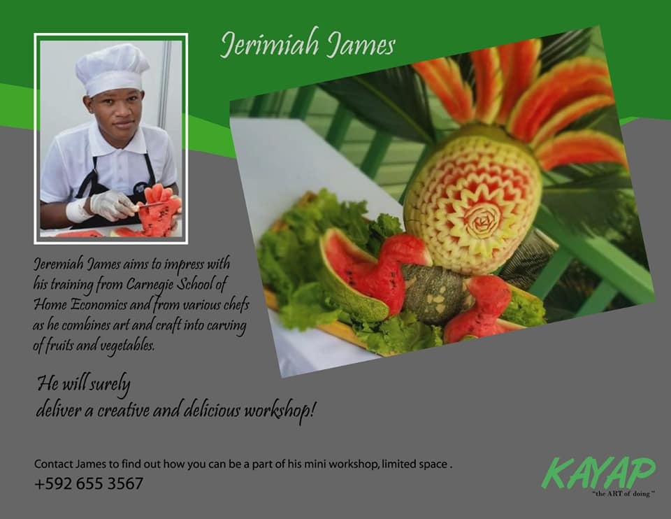 J James -Food Artist KAYAP 2