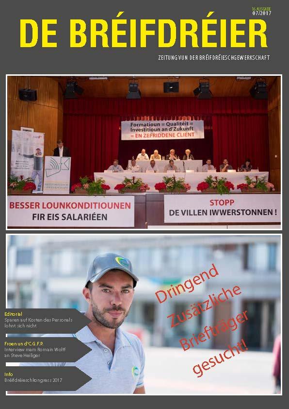 De Bréifdréier A16 07-2017
