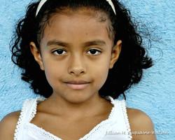 Maleku girl, age 8