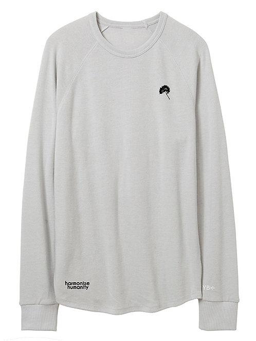 UNISEX JUST DANDY vintage heavy knit sweater (light grey)