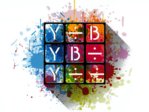 Y B ÷ Rubik's Cube