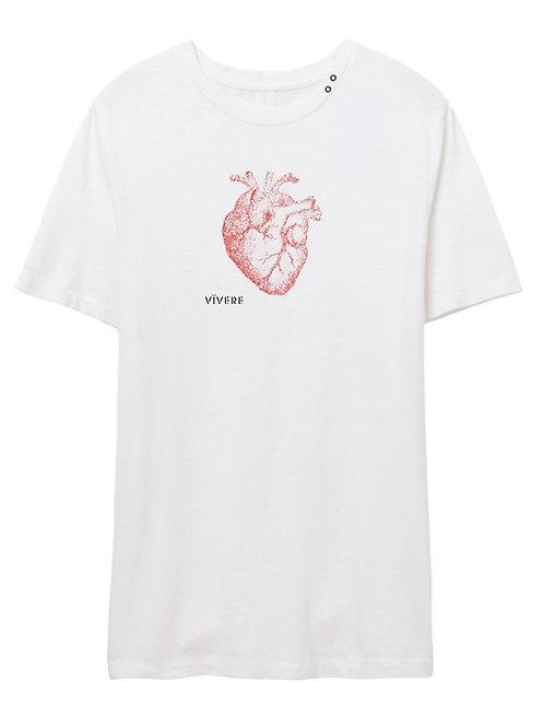 ALL HEART eyelet crew (white)