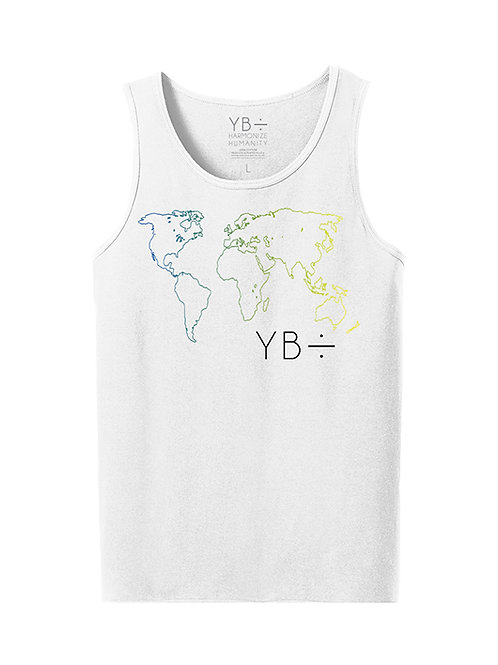 DIVERSITY OVER DIVISION tank-top (white)