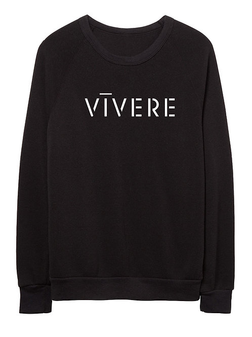 STENCIL unisex sweater (black)