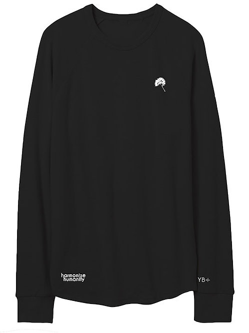 UNISEX JUST DANDY vintage heavy knit sweater (black)