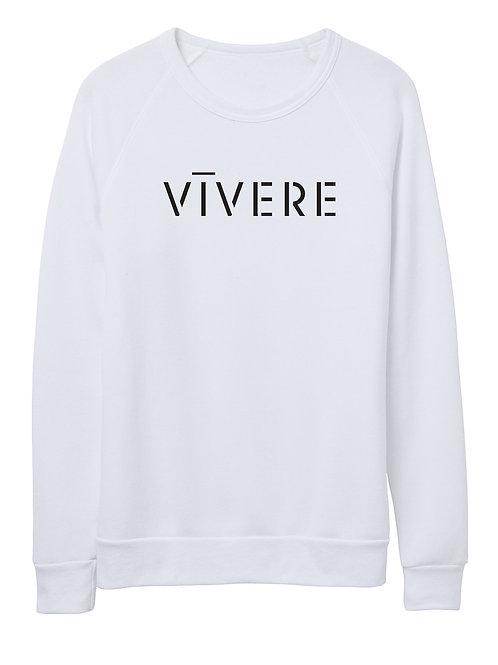 STENCIL unisex sweater (white)