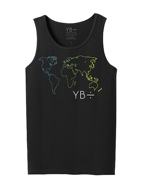 DIVERSITY OVER DIVISION tank-top (black)