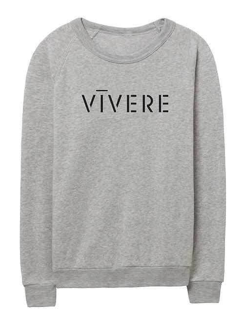 STENCIL unisex sweater (grey)