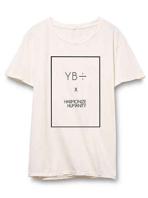 Y B ÷  x  HH eyelet crew (white)