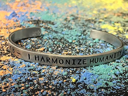 Y B ÷  |   HH  silver bracelet