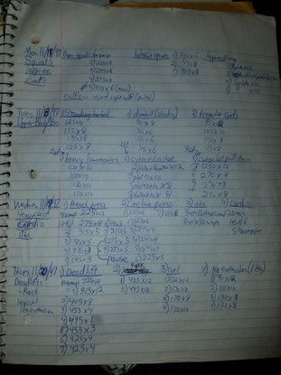 Hit a Plateau? 100% success with detailed workout log