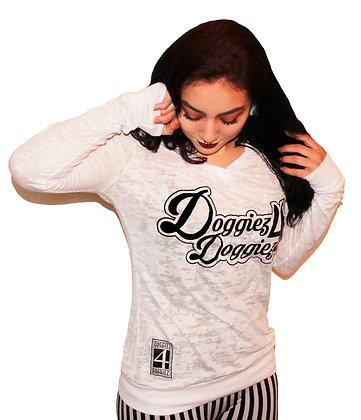 Doggiez4Doggiez Classic logo (Girly Hoodie)