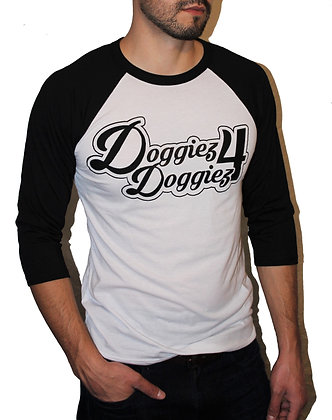 Doggiez4Doggiez Classic Logo Baseball Tees