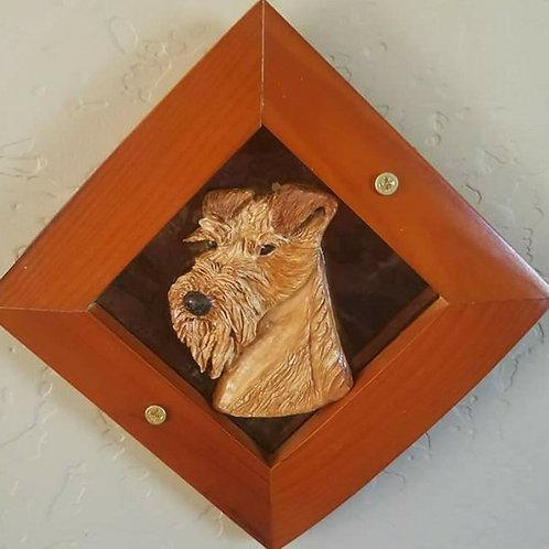 Hand-Carved Tile