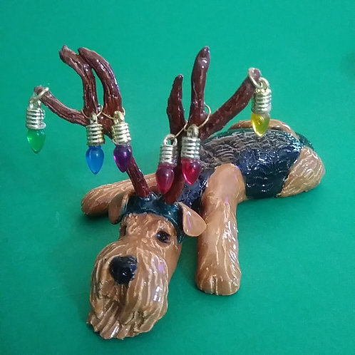 """""""Fine Mess!"""" Holiday Breed Sculpture"""