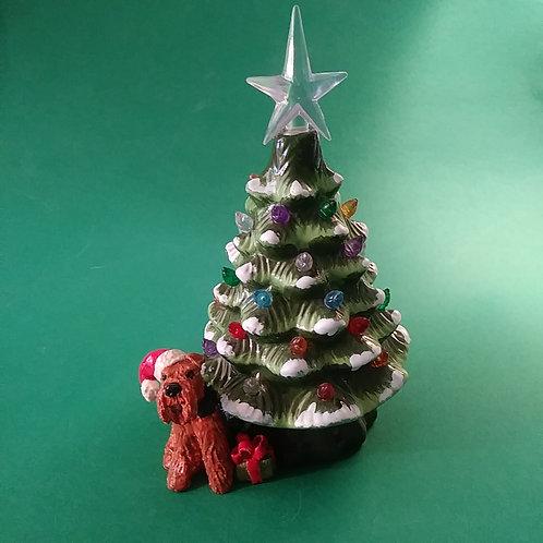 """Santa's Helper (7"""" tree)"""