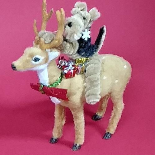 "Original ""Twistie"" Hanging Ornament"