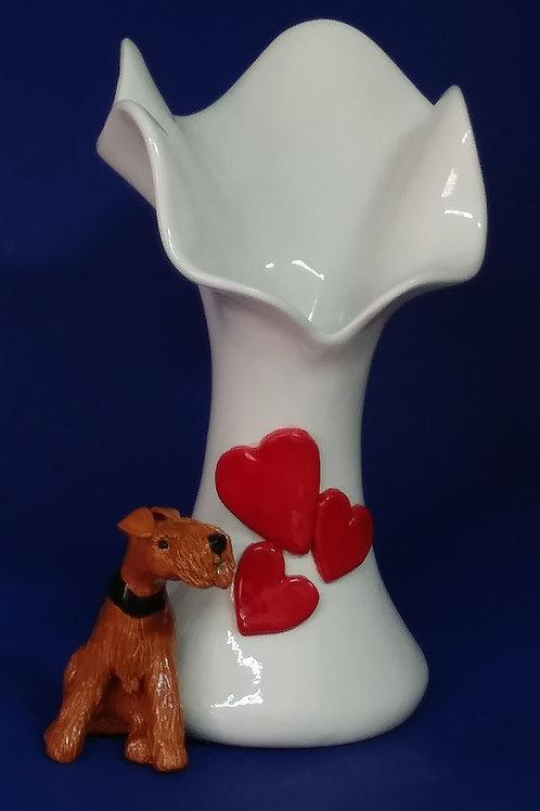 Have-a-Heart Flower Vase