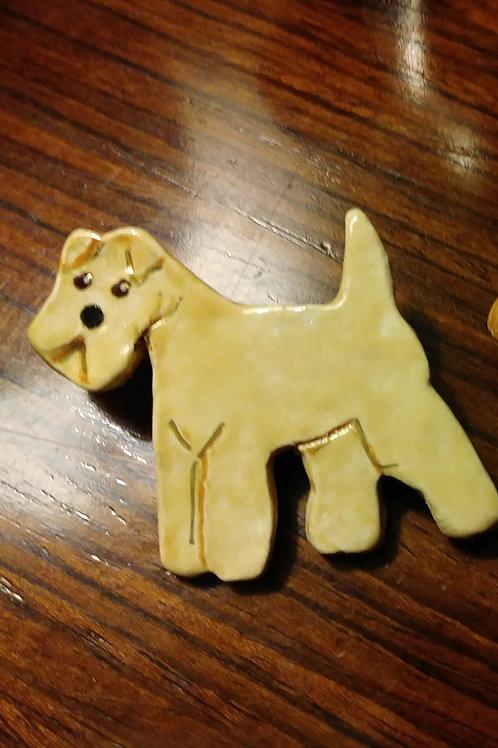 Ceramic Breed Pin