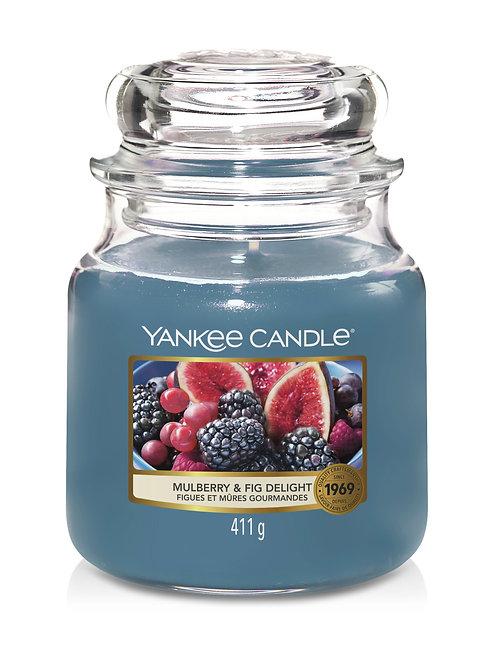 Mulberry & Fig - Yankee Candle - Giara media