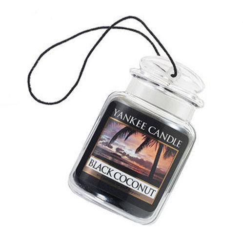 BLACK COCONUT Car Jar Yankee Candle