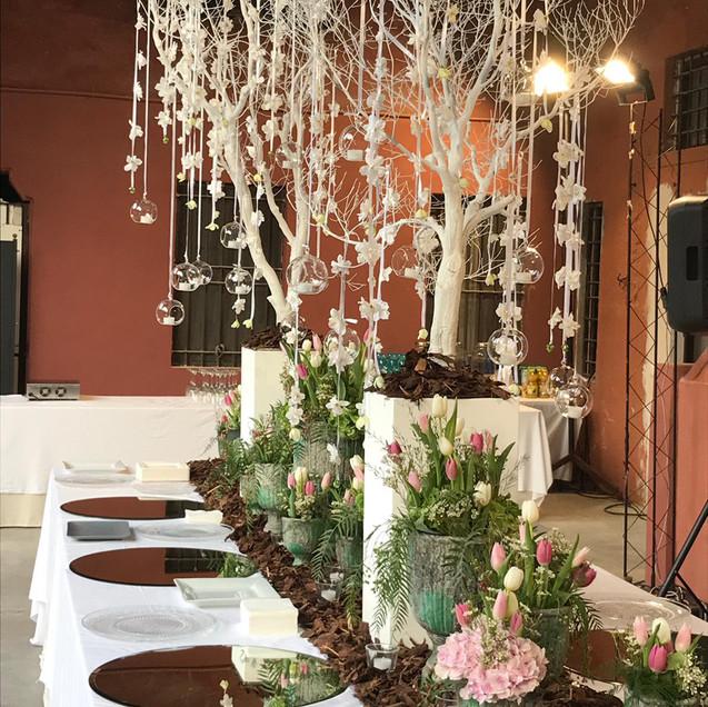 allestimento tavolo imperiale luxury wedding