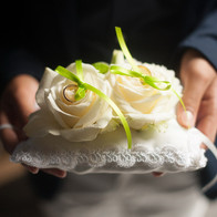 cuscino fedi verde acido wedding planner
