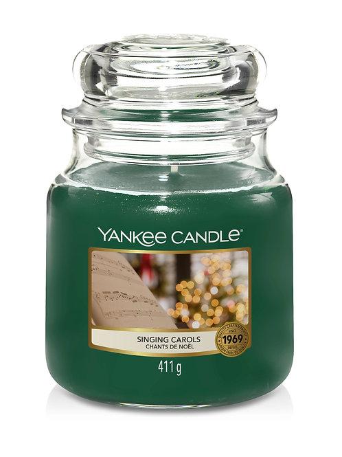Singing Carols - Yankee Candle - Giara media