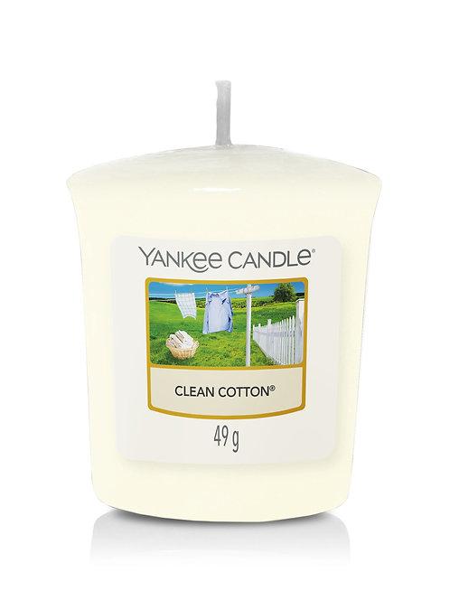 CLean Cotton - Yankee Candle - Votivo