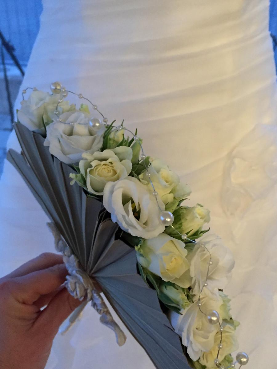 Bouquet Sposa Ventaglio.Bouquet A Ventaglio Belle Epoque