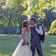 bouquet sposa ventaglio bianco e glicine
