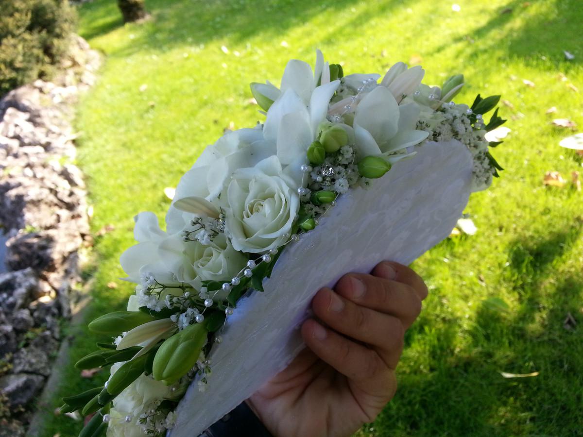 Bouquet Sposa Ventaglio.Bouquet A Ventaglio