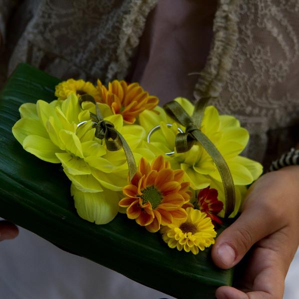 cuscino fedi floreale dahlie brescia