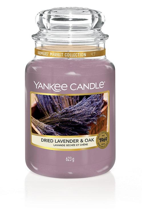 Dried lavender & Oak - Yankee candle - Giara Grande
