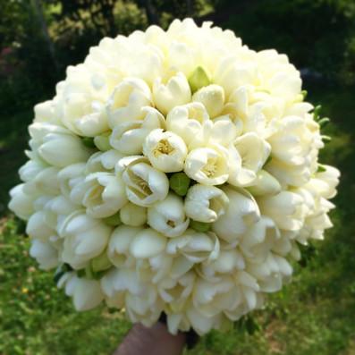 bouquet sposa fresie brescia manerbio