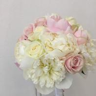 bouquet sposa romantico peonie rosa brescia