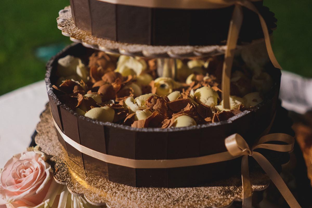 wedding cake cioccolato wedding planner
