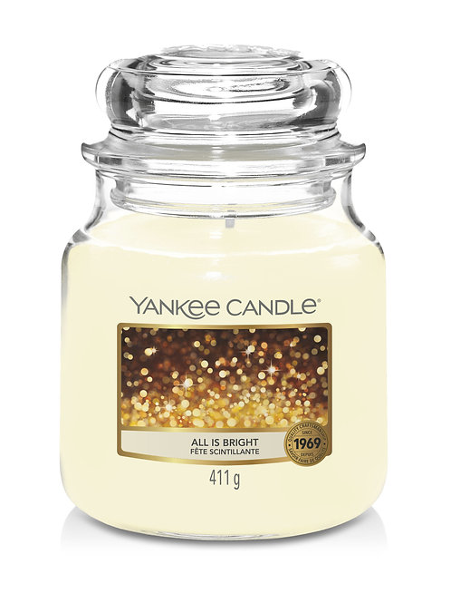 All is Bright - Yankee Candle - Giara media