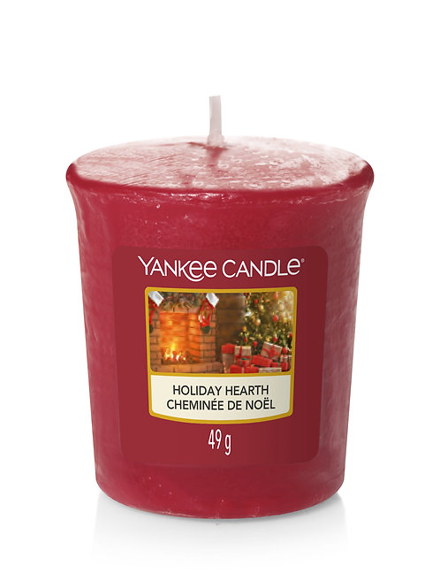 Holiday Hearth - Yankee Candle - Votivo
